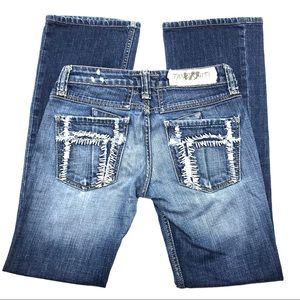 "Taverniti Jamie Boot Cut Jeans, Size 26"", EUC"